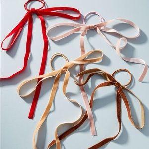 Arabesque Ribbon Hair Tie Set